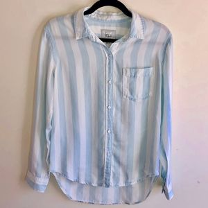 Rails Striped Button Down Shirt Size Small